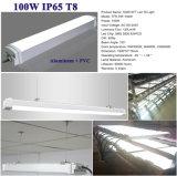 Lámpara pendiente del poder más elevado 100W de la luz T8 los 8FT de la Tri-Prueba del LED