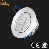 3W LED messo alluminio Downlight/indicatore luminoso di soffitto