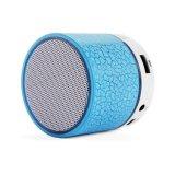 Мини-портативный беспроводной технологией Bluetooth громкоговоритель с красочными светодиодный индикатор