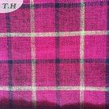 Ткань самой модной нашивки решетки Linen для софы (FTD31107)