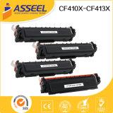 Alta calidad compatible cartucho de tóner CF410A / Serie CF410X para HP LaserJet Pro M477fdw / M452dn / M452dw / M477fdn / M477fnw / M452nw