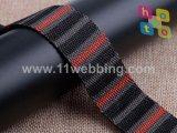 De jacquard Geweven Nylon Singelband van de Polyester voor Riem, de Schouderriemen van de Zak en de Toebehoren van het Kledingstuk
