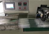 Taza de papel plástica automática llena GCP-450-4 que cuenta y empaquetadora
