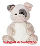 Симпатичное животное плюша - свинья
