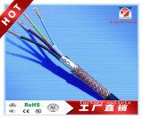 Single-Layer Coaxiale Kabel PTFE van het Weefsel voor Mededeling