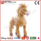تصميم جديدة يحشى [أنيمل] يقف حصان حجر السّامة قطيفة لعبة