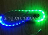 Zapato colorido de la lámpara LED luz de tira