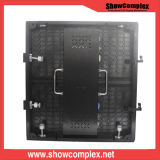 Afficheur LED P3 incurvé polychrome d'intérieur de haute résolution pour l'exposition d'étape avec contrasté
