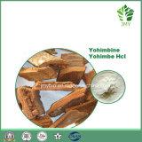 Естественная выдержка Yohimbine Hci 8%~98% расшивы Yohimbe