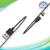 Rundes magnetisches Handy-Kabel Mikro-USB-Typ c-schnelle aufladenaufladeeinheit für iPhone 7 6 6s plus 5 5s Xiaomi Samsung Huawei Meizu
