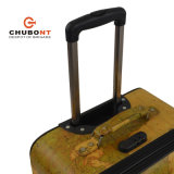 Chubont 4 Wheels Map Pattern 3PCS Trolleycas en PVC