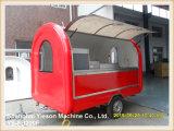 Carro móvil del alimento del acoplado de los alimentos de preparación rápida de Ys-Fb200f para la venta