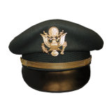Vlies-Weinlese-Offizier-Höchstschutzkappe der Wollen