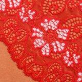 Красный Цветостойкость выше 3,5 кружевной ткани, закрывающий шнуровку кузова