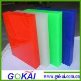 10mm da placa em acrílico colorido, material acrílico Folha de PMMA