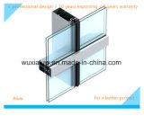El marco utilizó la pared de cortina