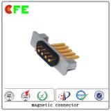 Conector magnético macho e feminino de 4 pinos para celular