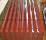 市場の人気最も売れ行きの良い製品カラー上塗を施してある波形の電流を通された屋根を付けるシート