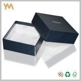 Bleu de haute qualité emballage cadeau encadré pour bijoux