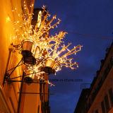 LED 휴일 상점 훈장을%s 인공적인 크리스마스 잔가지 빛