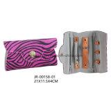 Moda Zebra Material Gift Viagem Jóias Bolsa de armazenamento Bolsa de jóias