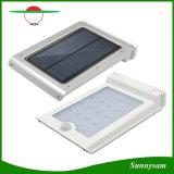 Economia de energia High Brightness Waterproof Solar Powered 25 LED Outdoor Light Solar PIR sensor de movimento lâmpada de parede