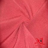 Stretch Gingham Polyester / Spandex tejido tejido de lycra para pantalones
