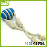 Bola TPR com corda de algodão Pet Toys Pet Product