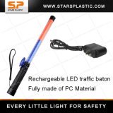 Rechargeable LED Traffic Baton Wands