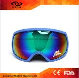 2017 neueste Anti-Wind Schneemotocross-Googles gedruckte Ski fahrende Schutzbrillen Sport- Eyewear