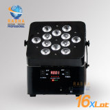 38 voreingestellte Effekte V12 6in1 Rgbaw+UV des batteriebetriebenen LED NENNWERT helles Stadiums-Disco NENNWERT Projektors