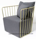 현대 복사 여가 커피 강철 식사 의자 단 하나 소파