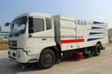 Dongfeng LHD 4X2 도로 Sweeper180HP 거리 청결한 트럭 가격