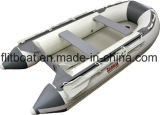 Barco inflable del piso del aluminio de 360cm