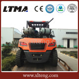 China-Duell-Kraftstoff-Gabelstapler 5 Tonne LPG-Benzin-Gabelstapler für Verkauf
