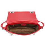 Projetos dos sacos de ombro do couro o mais atrasado da vaca mini para Accessopries das mulheres