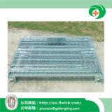 Caliente-Venta de la jaula plegable de la logística del acero para el almacén de Forkfit