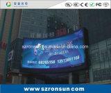 P8mm SMD que hace publicidad de la visualización de LED al aire libre a todo color de la cartelera