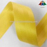 Grau superior 1,5 polegadas Nylon Amarelo do tecido do cinto