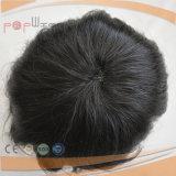 최고 판매 질 혼합 회색 색깔 Toupee (PPG-l-0238)