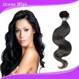 2017高品質の加工されていない人間の毛髪優れたボディ波100%のブラジル人のバージンの毛の拡張(BW087b)
