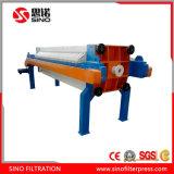 Filtre-presse résistant d'alcali automatique pour des produits chimiques