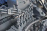 Torretta chiara mobile Kl06t di uso industriale alimentata dal motore del Kipor Diese