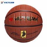 Cuir synthétique composite Basketballs unique spécial