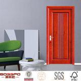 Porte de MDF en bois intérieur standard de conception simple (GSP8-027)
