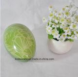 Kundenspezifisches Ei-Form-Zinn, Ostern-Tageszinn, Osterei-Zinn-Kasten, Ei-Form-verpackengeschenk-Zinn-Kasten