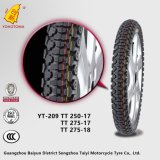 China Motorcycle Tire Supply 300-17 Yt-209 Tt