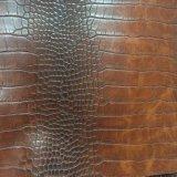 Van de krokodil van de Hagedis het Synthetische Pu Leer van de Korrel voor Handtassen hx-B1722