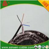 Тип 300/300V медное вырезанное сердцевина из Shieled Rvvp изолированное PVC и обшитый PVC гибкий кабель LSZH
