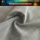 Polyester/Nylon gemischtes Ausdehnungs-Check-Textilgewebe für Kleid (R0146)
